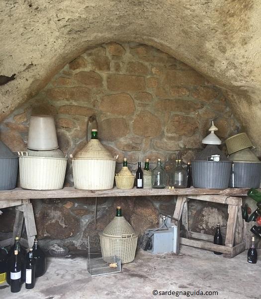 サルデーニャの自家製ワイン
