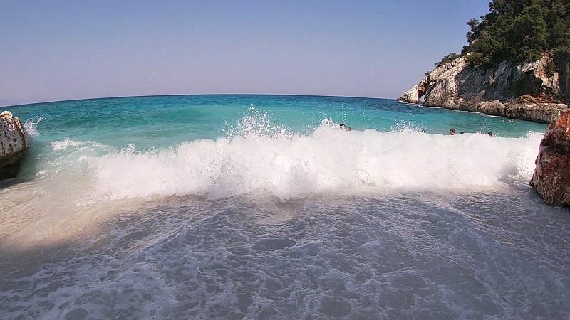 カーラゴロリッツェ サルデーニャのビーチ