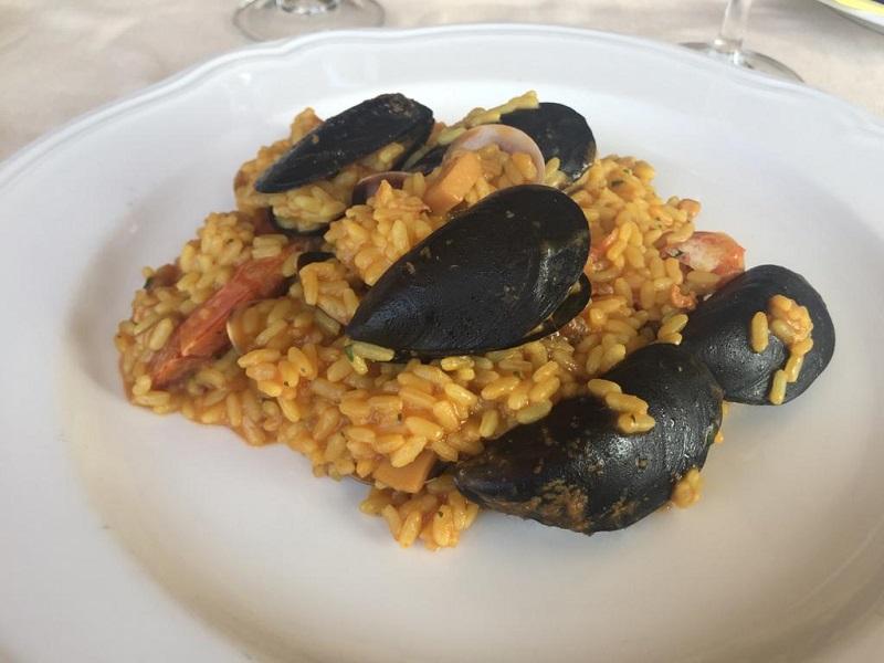 魚介のリゾット サルデーニャレストラン