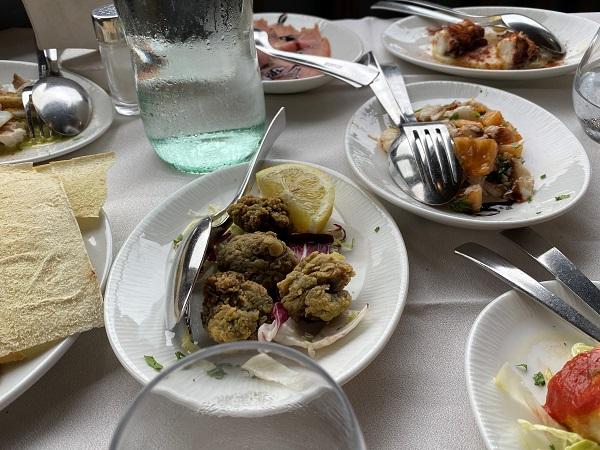 サルデーニャ島レストラン