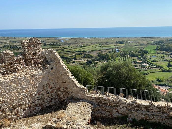 ポサーダ 城からの眺め