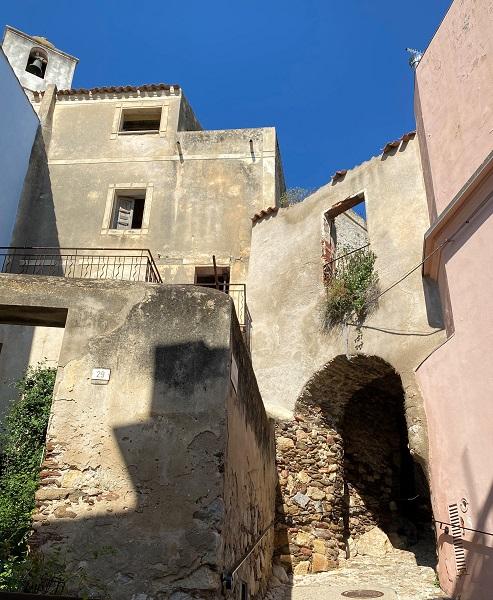 サルデーニャの小さな村