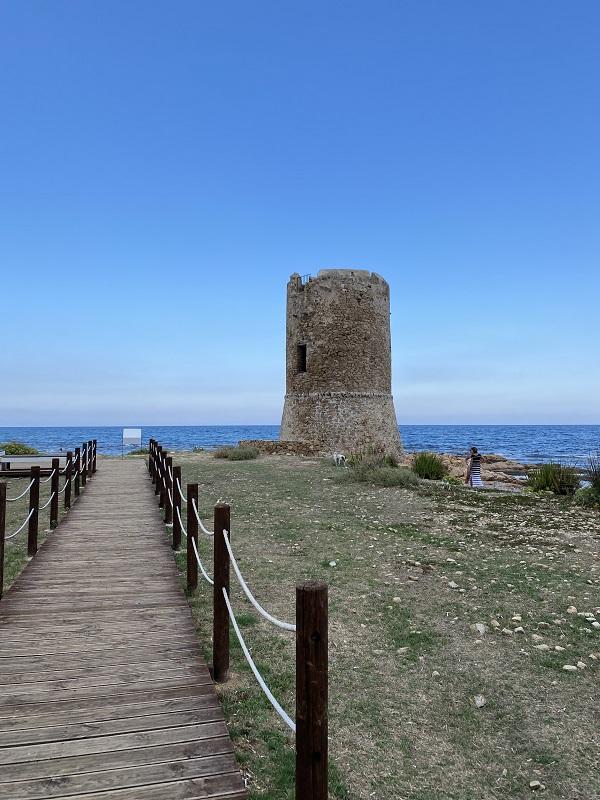 サルデーニャ スペイン時代の塔